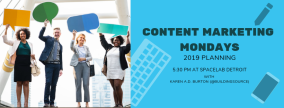 CONTENT MARKETING MONDAYS