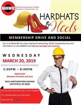 NABWIC Detroit HARD HATS & HEELS